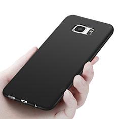 Funda Silicona Ultrafina Goma R06 para Samsung Galaxy S7 Edge G935F Negro