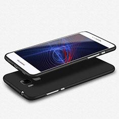 Funda Silicona Ultrafina Goma S02 para Huawei G7 Plus Negro