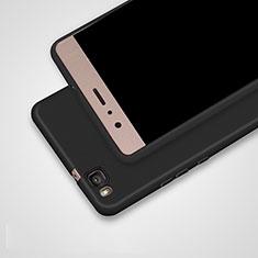 Funda Silicona Ultrafina Goma S02 para Huawei G9 Lite Negro