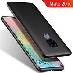 Funda Silicona Ultrafina Goma S02 para Huawei Mate 20 X Negro