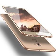 Funda Silicona Ultrafina Goma S02 para Huawei Mate S Oro