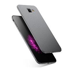Funda Silicona Ultrafina Goma S02 para Samsung Galaxy A7 (2016) A7100 Gris