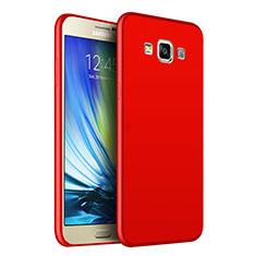 Funda Silicona Ultrafina Goma S02 para Samsung Galaxy A7 Duos SM-A700F A700FD Rojo