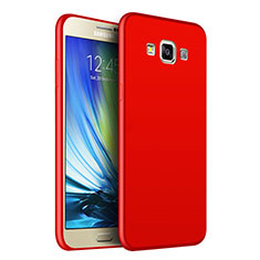 Funda Silicona Ultrafina Goma S02 para Samsung Galaxy A7 SM-A700 Rojo