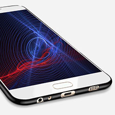 Funda Silicona Ultrafina Goma S02 para Samsung Galaxy C7 Pro C7010 Negro