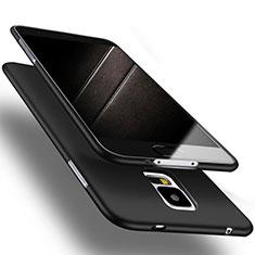 Funda Silicona Ultrafina Goma S02 para Samsung Galaxy S5 Duos Plus Negro