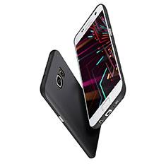 Funda Silicona Ultrafina Goma S02 para Samsung Galaxy S7 Edge G935F Negro