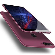 Funda Silicona Ultrafina Goma S03 para Huawei Enjoy 8 Morado
