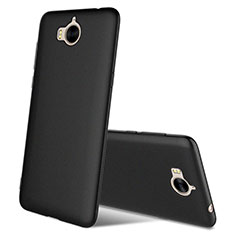 Funda Silicona Ultrafina Goma S03 para Huawei Honor Play 6 Negro