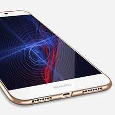Funda Silicona Ultrafina Goma S03 para Huawei Mate S Oro
