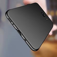 Funda Silicona Ultrafina Goma S03 para Samsung Galaxy C7 Pro C7010 Negro