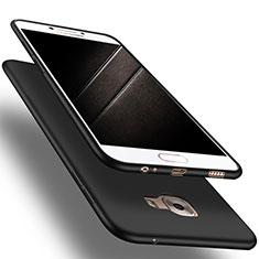 Funda Silicona Ultrafina Goma S03 para Samsung Galaxy C9 Pro C9000 Negro