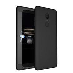 Funda Silicona Ultrafina Goma S03 para Xiaomi Redmi Note 4 Negro