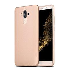 Funda Silicona Ultrafina Goma S04 para Huawei Mate 9 Oro