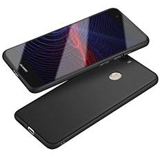 Funda Silicona Ultrafina Goma S04 para Huawei Nova Negro