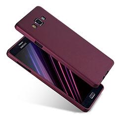 Funda Silicona Ultrafina Goma S04 para Samsung Galaxy A7 Duos SM-A700F A700FD Morado