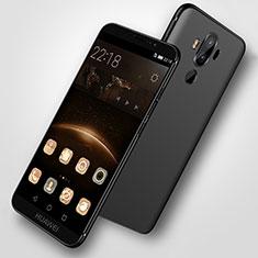 Funda Silicona Ultrafina Goma S07 para Huawei Mate 9 Negro