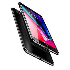 Funda Silicona Ultrafina Transparente A08 para Apple iPhone 8 Plus Negro