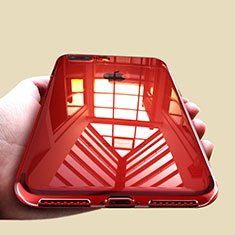 Funda Silicona Ultrafina Transparente A09 para Apple iPhone 8 Plus Claro