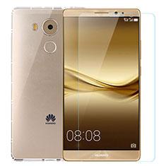 Funda Silicona Ultrafina Transparente con Protector de Pantalla para Huawei Mate 8 Claro