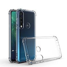 Funda Silicona Ultrafina Transparente G01 para Motorola Moto G8 Plus Claro