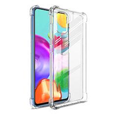 Funda Silicona Ultrafina Transparente G01 para Samsung Galaxy A41 Claro