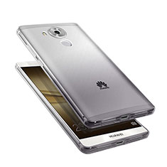 Funda Silicona Ultrafina Transparente Gradiente para Huawei Mate 8 Gris