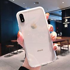 Funda Silicona Ultrafina Transparente K01 para Apple iPhone XR Claro