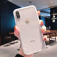 Funda Silicona Ultrafina Transparente K01 para Apple iPhone Xs Claro