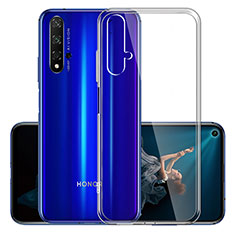 Funda Silicona Ultrafina Transparente K01 para Huawei Honor 20 Claro