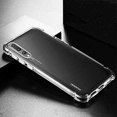 Funda Silicona Ultrafina Transparente K01 para Huawei P20 Pro Claro