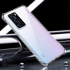 Funda Silicona Ultrafina Transparente K01 para Huawei P40 Claro