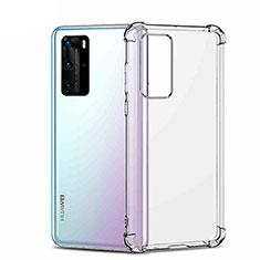 Funda Silicona Ultrafina Transparente K01 para Huawei P40 Pro Claro