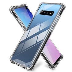 Funda Silicona Ultrafina Transparente K01 para Samsung Galaxy S10 Plus Claro