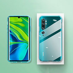 Funda Silicona Ultrafina Transparente K01 para Xiaomi Mi Note 10 Pro Claro