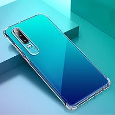 Funda Silicona Ultrafina Transparente K02 para Huawei P30 Claro