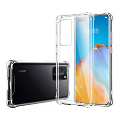 Funda Silicona Ultrafina Transparente K02 para Huawei P40 Pro Claro