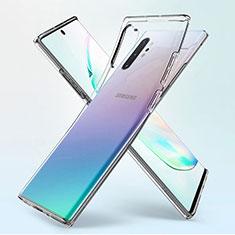 Funda Silicona Ultrafina Transparente K02 para Samsung Galaxy Note 10 Plus 5G Claro