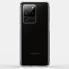 Funda Silicona Ultrafina Transparente K02 para Samsung Galaxy S20 Ultra 5G Claro