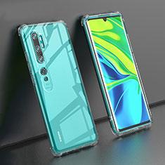 Funda Silicona Ultrafina Transparente K02 para Xiaomi Mi Note 10 Claro