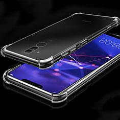 Funda Silicona Ultrafina Transparente K03 para Huawei Mate 20 Lite Claro