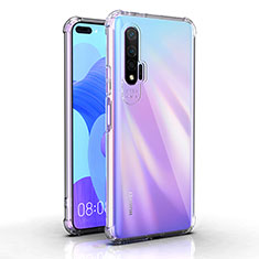 Funda Silicona Ultrafina Transparente K03 para Huawei Nova 6 5G Claro