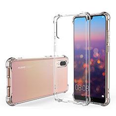 Funda Silicona Ultrafina Transparente K03 para Huawei P20 Claro
