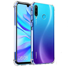 Funda Silicona Ultrafina Transparente K03 para Huawei P30 Lite Claro