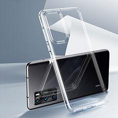 Funda Silicona Ultrafina Transparente K03 para Huawei P40 Claro