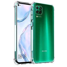 Funda Silicona Ultrafina Transparente K03 para Huawei P40 Lite Claro