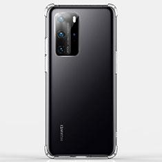 Funda Silicona Ultrafina Transparente K03 para Huawei P40 Pro Claro