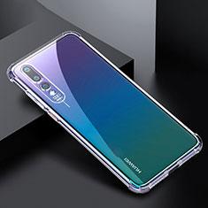 Funda Silicona Ultrafina Transparente K04 para Huawei P20 Pro Claro