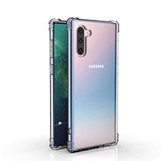 Funda Silicona Ultrafina Transparente K04 para Samsung Galaxy Note 10 5G Claro