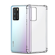 Funda Silicona Ultrafina Transparente K05 para Huawei P40 Claro